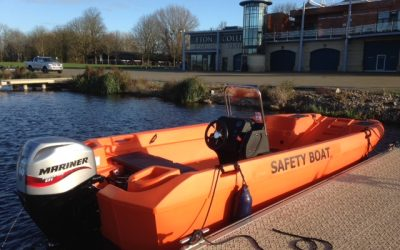 World Renowned Rowing Centre take delivery of New Mk3 Pioner Multi Safety Boat
