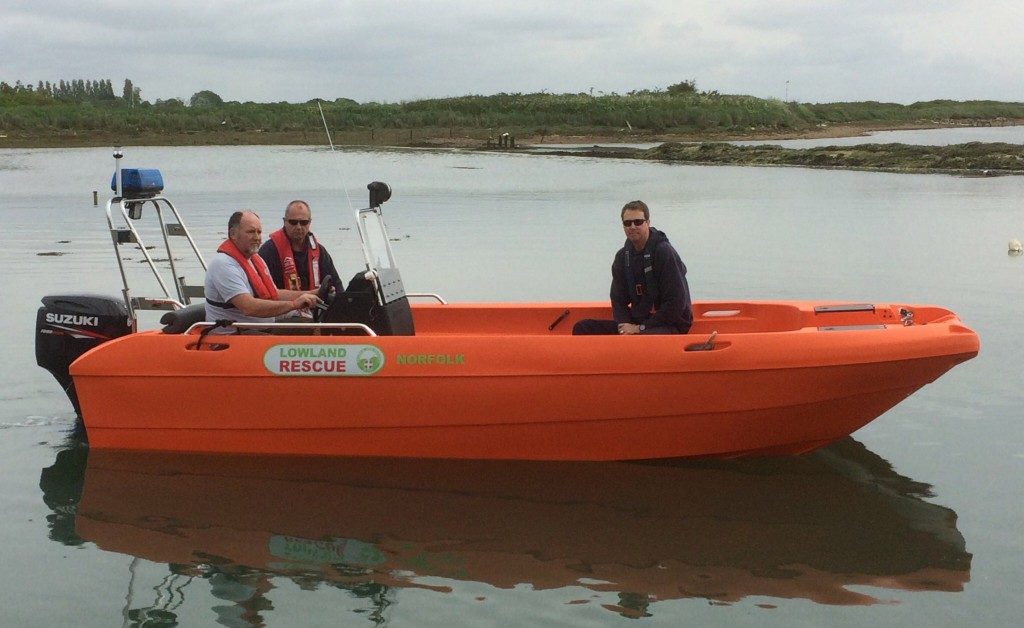 LOWLAND RESCUE – NORFOLK'S NEW DELIVERY